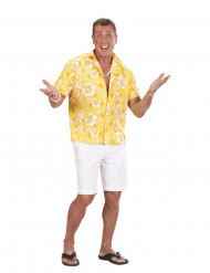 Gelbes Hawaii-Hemd für Herren