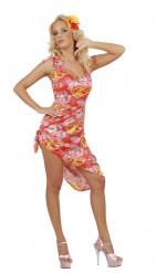 Palme Hawaii-Kostüm für Damen