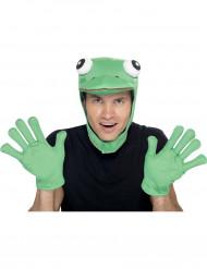 Kostümzubehör Set Frosch für Erwachsene