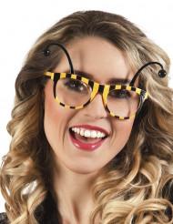 Brille Biene für Erwachsene