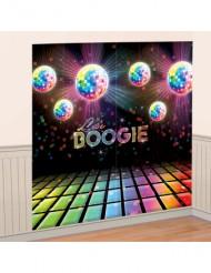Wanddekoration Discokugeln 82x165 cm