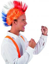Punk Perücke orange Niederlande