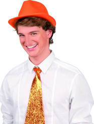 Hut im Borsalino-Stil für Erwachsene - orange