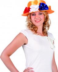 Der Trikolore-Hut für Erwachsene.