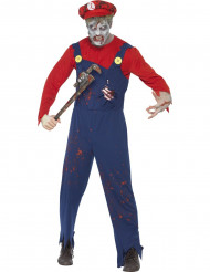 Zombie Klempner Kostüm für Herren Halloween