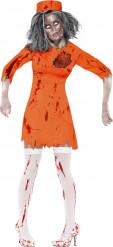 Zombie-Gefangenen Kostüm für Frauen Halloween