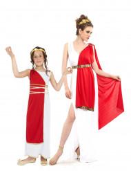 Römer Kostüm Mutter und Tochter