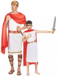 Römer Kostüm Vater und Sohn