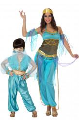 Orientalische Tänzerin Paarkostüm Mutter-Tochter
