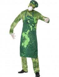 Halloween Zombie-Atomforscher Kostüm für Herren
