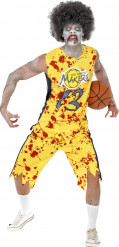 Zombie Basketballer Kostüm für Männer Halloween