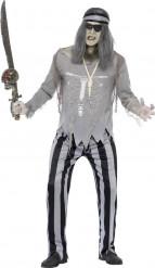 Piraten Geister Kostüm für Herren Halloween