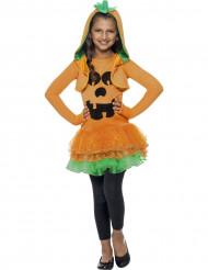 Halloween Kürbis-Kostüm für Mädchen