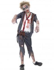 Schüler Zombie-Kostüm für Jungen Halloween