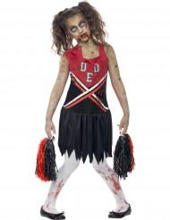 Halloween Zombie Cheerleader-Kostüm für Mädchen