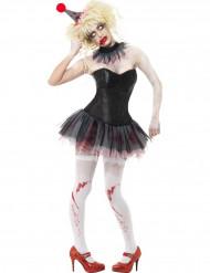 Halloween Zombie Clown Kit für Damen