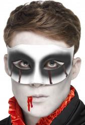 Halloween Vampir Halb-Maske für Erwachsene