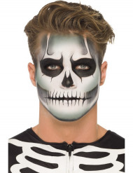 Halloween Skelett Makeup-Kit phosphoreszierend für Erwachsene