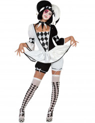 Hofnarr Kostüm für Damen
