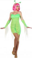 Alien Kostüm für Damen
