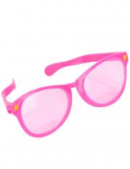 Riesenbrille rosa für Erwachsense