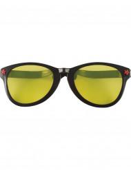 Riesenbrille schwarz für Erwachsense