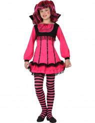 Rosa Vampir-kostüm für Halloween