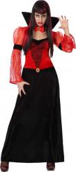 Halloween Vampir-Gräfin Kostüm für Damen