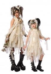 Gothic Mumien-Kostüm für Mutter und Tochter
