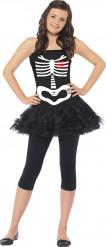 Halloween Skelett-Kostüm für Jugendliche