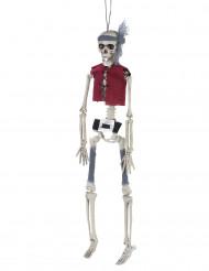 Halloween Dekoration Piratenskelett zum Aufhängen