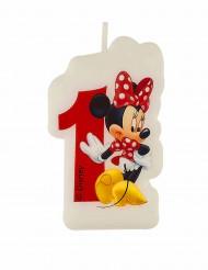 Minnie Café™ Kerze - Zahl 1 - Disney™