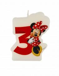 Minnie Café™ Kerze - Zahl 3 - Disney™