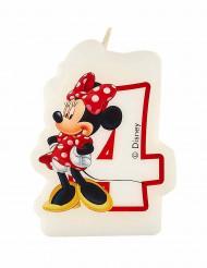 Minnie Café™ Kerze - Zahl 4 - Disney™