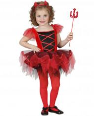 Halloween Teufelin Tutu Kostüm für Mädchen