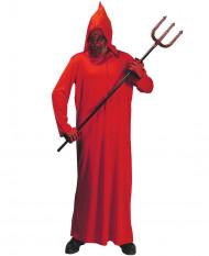 Halloween rotes Satan Kostüm Kostüm für Erwachsene