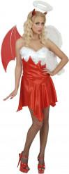 Halloween Engel und Dämon Kostüm für Damen