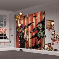 Wanddekoration Totenkopf
