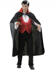 Vampir-Umhang Roter Kragen für Erwachsene Halloween