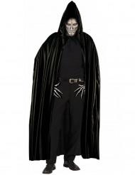 Schwarzer Halloween-Umhang für Erwachsene