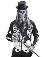 Halloween Skelett-Weste für Erwachsene