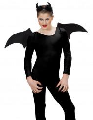 Schwarzes Halloween Dämonen-Set