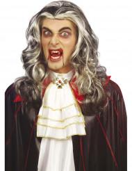 Zweifarbige Vampir-Perücke für Erwachsene