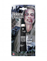 Halloween Make-Up Graue Haut