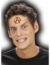 Falsche Wunde mit Symbol Halloween