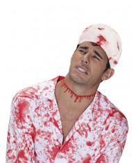 Blutiger Stoff-Streifen Halloween