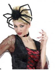 Modellierbarer Halloween Spinnen-Kopfschmuck für Erwachsene