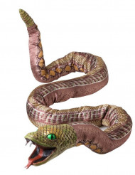 Modellierbare Halloween Riesen-Schlange