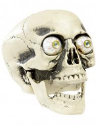 Halloween Schädel mit Glubschaugen