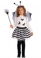 Halloween Accessoire-Set Fledermaus für Mädchen